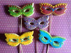 Atelier Zuckersüss: Fastnachtmasken