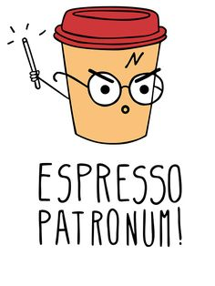 Expresso Patronum by dexpeq