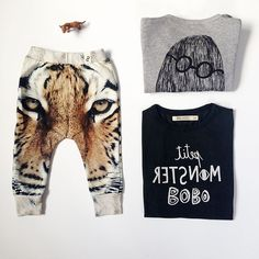 For little tiger monsters only! SpringStof.eu - Popupshop - Bobo Choses