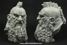 Dwarf Bust, Scibor Teleszynski on ArtStation at http://www.artstation.com/artwork/dwarf-bust-f3b619d8-84d3-412d-8888-3b642db6ae0a