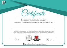 Certificate of Participation - It acknowledges the participation of the contestant. It signifies that the person has taken part in an event or competition. Kappa Alpha Order, Certificate Design Template, Change Logo, Lorem Ipsum, Competition, Texts, Templates, Words, Worksheets