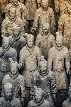 size: Photographic Print: China Collection - Army of Terracotta Warriors - Shaanxi Province by Philippe Hugonnard : China, Le Tibet, Terracotta Army, Terracota, Tropical Art, Famous Landmarks, Classical Art, Find Art, Framed Artwork