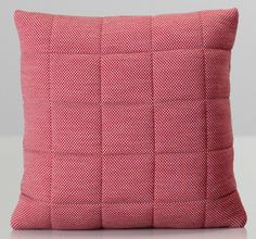 Andersson&Voll for Muuto, wollen pillow in red