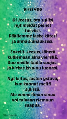 #Virsiviesti #Virsi #Virsi496 #Virret #Jumala #Jeesus