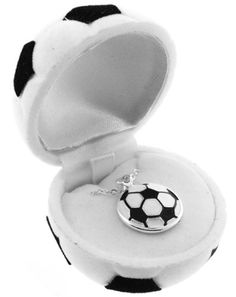 $6.49-$0.00 Baby Adorable soccer pendant in a soccer ball gift box. The perfect gift for soccer players, soccer moms and any soccer fan! Don't miss out Get yours today!