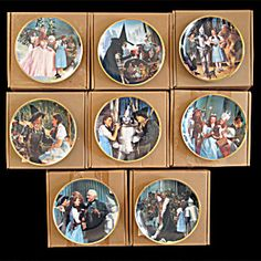 Wizard of Oz Commemorative: Full Set of 8 Hamilton Plates