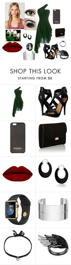"""""""Untitled #20"""" by kristen-cooley on Polyvore featuring Michael Antonio, Balmain, Mansur Gavriel, Bling Jewelry, Dinh Van and DANNIJO"""