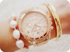 Rosé-Gold Michael Kors by DolceDanielle, via Flickr