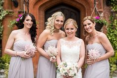 Lilac Bridesmaid Dresses Beautiful Country House Wedding http://www.fionasweddingphotography.co.uk/