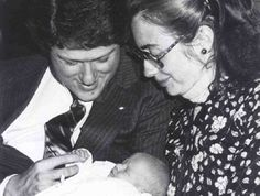 Bill Clinton, Hillary Clinton et Chelsea Clinton