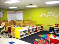 pictures of infant classroom setting | Caterpillars (6 weeks - 12 months)
