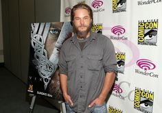 "Travis Fimmel Photos Photos - Actor Travis Fimmel attends the 'Living The Vikings' Panel for HISTORY at WonderCon held at the Anaheim Convention Center on March 30, 2013 in Anaheim, California. - ""Living The Vikings"" Panel for HISTORY at WonderCon"