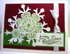 CC384, Mixed Bunch of Flakes by amymay998 - Cards and Paper Crafts at Splitcoaststampers