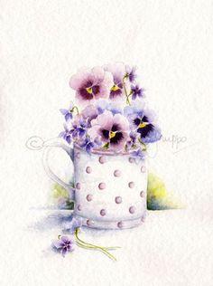 Watercolor. Art Print. Watercolor Painting.