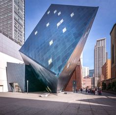 photographer pygmalion karatzas has shared images of the contemporary jewish museum and extension in san francisco, designed by daniel libeskind.