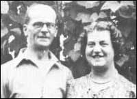 Serial killer John Christi and his wife, Ethel — she was killed Dec 4, 1952 and hidden under the floorboards in the front room