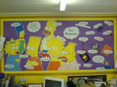 Les Simpsons Display