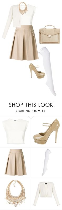"""Sem título #2301"" by mprocedi on Polyvore featuring moda, Puma, Yves Saint Laurent, Boutique Moschino, ABS by Allen Schwartz, BCBGMAXAZRIA e J.Lindeberg"