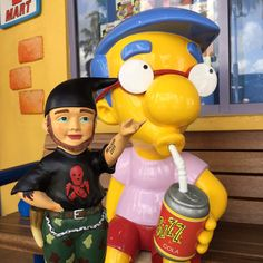 Milhouse loves the Mighty Metal Bob®!  http://www.mightymetalbob.de #universalorlando