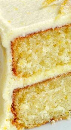 Lemon Velvet Cake ~ perfectly moist and tender crumbed cake with a lemony buttercream frosting. Lemon Velvet Cake ~ perfectly moist and tender crumbed cake with a lemony buttercream frosting. Lemon Desserts, Lemon Recipes, Mini Desserts, Just Desserts, Baking Recipes, Sweet Recipes, Delicious Desserts, Dessert Recipes, Lemon Cakes