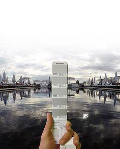 Esse artista está combinando paisagens da Itália e escala pantone | IdeaFixa