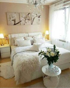 Inexpensive Teen Girls Bedroom Ideas With Simple Interior Dream Bedroom, Home Bedroom, Girls Bedroom, Bedroom Furniture, Master Bedroom, Bedroom Decor, Furniture Decor, Bedrooms, Suites
