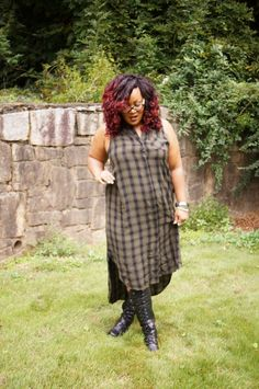 Breaking The Rules with Head to Toe Plaid from Target