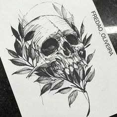 But something other than a skull Skull Tattoos, Body Art Tattoos, Sleeve Tattoos, Cool Tattoos, Forearm Tattoos, Dibujos Tattoo, Desenho Tattoo, Tattoo Sketches, Tattoo Drawings