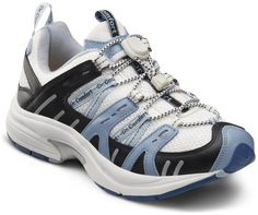 Dr. Comfort Womens Refresh Blue Diabetic Athletic Shoes * Check out the image by visiting the link. (This is an affiliate link) #WomensWalkingShoes