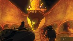 Fireworm Queen | Explore | How To Train Your Dragon