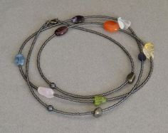 Bohemian Necklaces/ Bohemian Beaded Necklace/ Women's