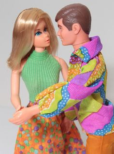 Vintage 1971 Live Action Barbie/Ken ~ I have 2 Live Action Skippers that did not sell and now I'm keeping.