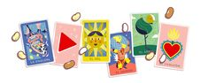 Play your friends or people around the 🌎 in today's celebrating Mexican card game 🌞🐟🍉 Google Doodles, Google Doodle Today, Doodles Games, Protection Sigils, Wow Image, Toilet Paper Roll Crafts, Family Game Night, Color Card, Folk Art
