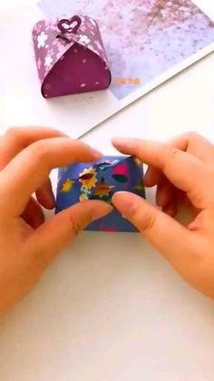 Diy Crafts Hacks, Diy Crafts For Gifts, Diy Home Crafts, Diy Crafts Videos, Creative Crafts, Diy Videos, Cool Paper Crafts, Paper Crafts Origami, Diy Paper