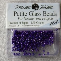 Perle mill hill petite  glass  beads 42101