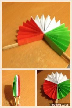Easy Valentine Crafts for Kids to Make Art N Craft, Craft Stick Crafts, Preschool Crafts, Easy Crafts, Diy And Crafts, Arts And Crafts, Paper Crafts, Independence Day Activities, Independence Day Decoration
