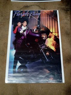 Prince Purple Rain Movie Poster 1984 Warner Brothers VG Condition Vintage Poster by TFSloan on Etsy