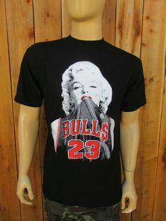 580306167a Chicago Bulls Marylin Monroe T-Shirt   FREE by HoodbyChoice