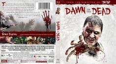 Dawn of the Dead Blu-ray Custom Cover