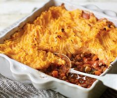 Veggie cottage pie with rosti topping