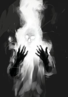 Digital Painting by Henry Christian-Slane (Behance) Arte Horror, Horror Art, Dark Fantasy Art, Dark Art, Fantasy Artwork, Art Zombie, Arte Obscura, Creepy Art, Art Graphique