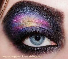 more galaxy eye makeup