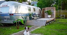 When you think of an Airstream, you're probably imaginingsomething sleek, silver, and futuristic, like a space shuttle or a giant bullet cruising down America's highways. And in the case of a charming 1979 Airstream available for rent in New Orleans, you'd be right — until you step inside. Airstreams, those classic silver trailers that ferried... View Article