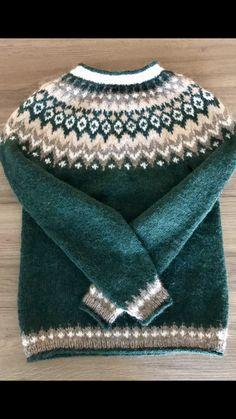 Fair Isle Knitting Patterns, Knitting Designs, Knit Patterns, Nordic Sweater, Knitting For Kids, Sweater Design, Knit Fashion, Crochet Clothes, Knit Crochet
