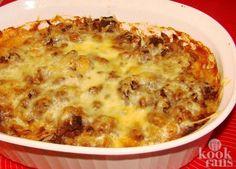 Wij weten wat jij eet vanavond: voor deze heerlijke ovenschotel heb je maar 3 ingrediënten nodig!