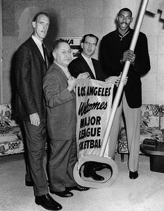 1959-Major League Basketball Welcomed to Los Angeles, California