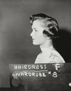 Wardrobe/hair test for Debbie Reynolds, Singin' in the Rain, 1952.