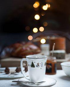 """VINN JULESERVISE ✨ Verdi kr 10.000,- Nå kan DU og en VENN vinne et valgfritt utvalg av det vakre JULEMORGEN serviset. For å delta følger du @wikwalsoe og skriver JULEMORGEN her. Tagg gjerne en venn som også kan vinne. (Verdi kr 5000,- til hver.) """"Julemorgen"""" er et servise som deler personlige juleminner. Det er nostalgisk, men likevel dempet moderne. For større vinnersjanser kan du delta hos @franciskasvakreverden og på @gullfjaeren. Det er også mulig å delta på Facebook. Wik & Walsøe... Wonderful Time, Tableware, Christmas, Xmas, Dinnerware, Tablewares, Navidad, Noel, Dishes"""