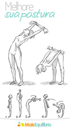 alongamento melhora a sua postura
