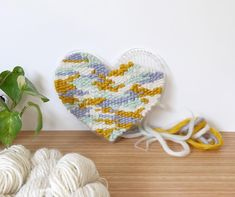 Welcome to The Unusual Pear. Here you'll find weaving and spinning Fibre Art Supplies for the modern crafter. Weaving Yarn, Hand Weaving, Slowly Slowly, Shooting Video, Fibre Art, Woven Wall Hanging, Hexagons, Heart Eyes, Loom Knitting